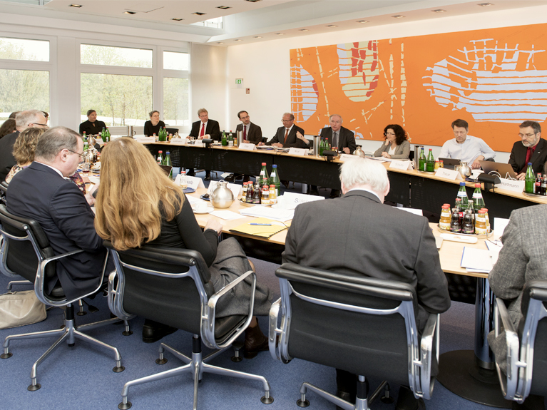 During a board meeting in Hannover