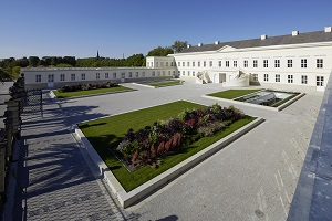 "Herrenhausen Palace, the venue of the Herrenhausen Conference on ""Governing Humanitarianism"""