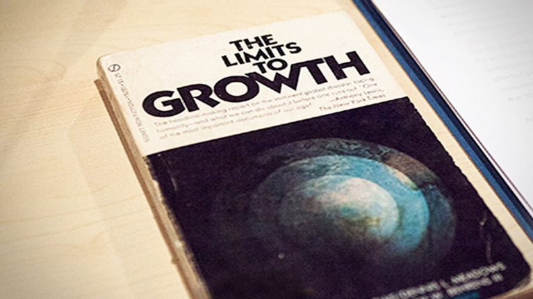 "Titel des Berichts ""The Limits to Growth"" von 1972"