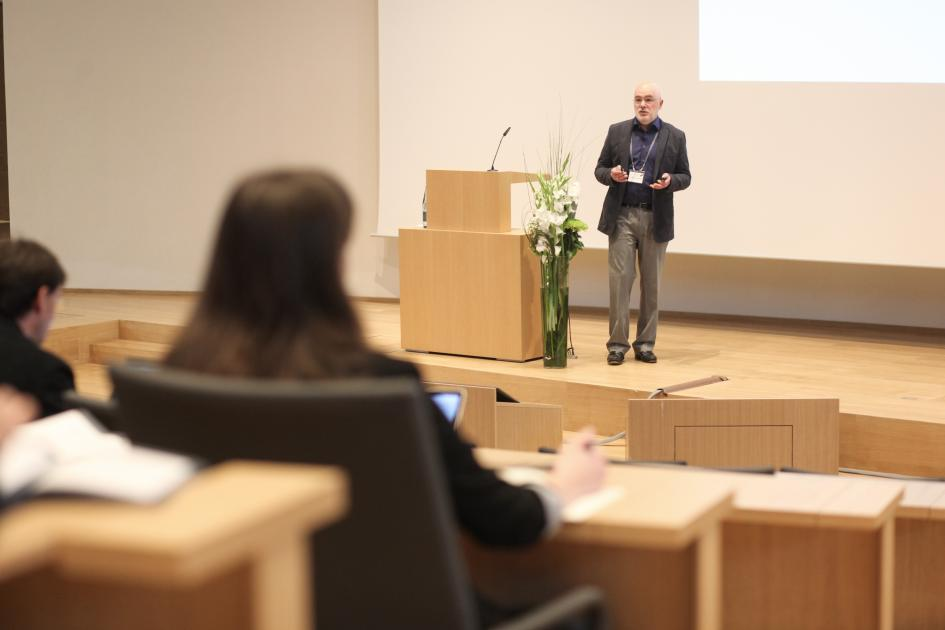 "Many different aspects were discussed, like Alexander Chervonsky's talk titled ""Gender bias in autoimmunity: under control of hormones and microbes""."