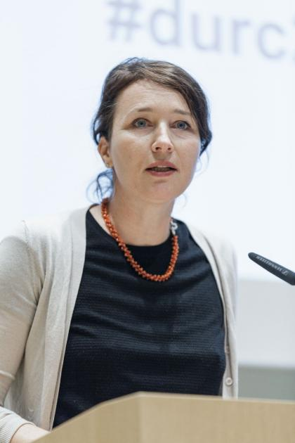 Silja Vöneky is Professor of Public International Law and Ethics of Law at the University of Freiburg, (Co-)Director of the Institute for Public Law and (Co-)Director of the Network for Civil Security Law in Europe (KORSE). She talked about biosecurity i