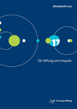 Cover Annual Report Volkswagen Foundation