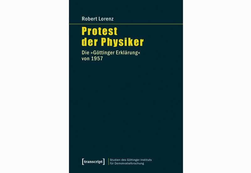 Cover Protest der Physiker